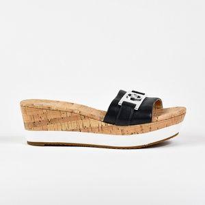 c2188a5e32f Michael Kors Shoes - Michael Kors Women s Warren Platform Wedge Sandals
